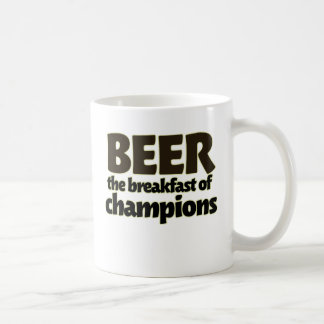 BEER the breakfast of champions Coffee Mug