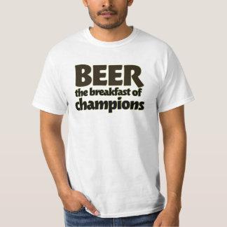 BEER the breakfast of champions Tee Shirt