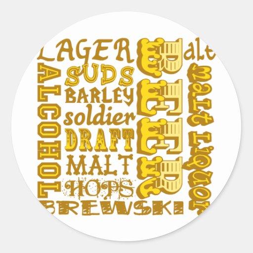 Beer Things Sticker