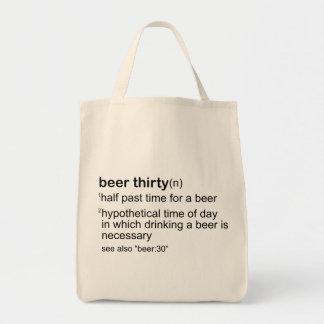 Beer Thirty Tote Bag