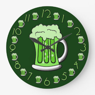 Beer Thirty Clock St Patricks Day Edition