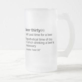Beer Thirty Coffee Mugs