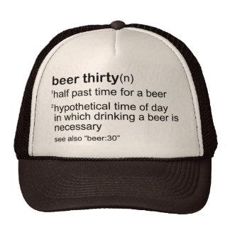 Beer Thirty Hat