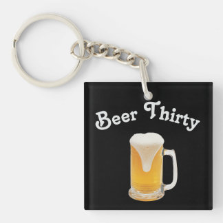 Beer Thirty Keychain