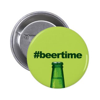 Beer Time 2 Inch Round Button