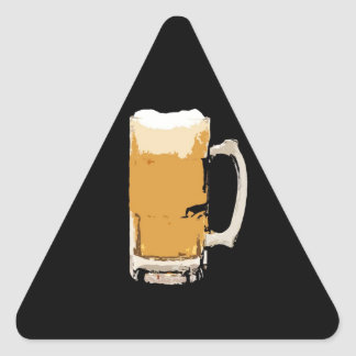 Beer Triangle Sticker