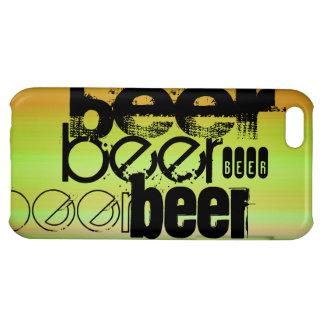 Beer; Vibrant Green, Orange, & Yellow iPhone 5C Case
