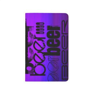 Beer; Vibrant Violet Blue and Magenta Journal