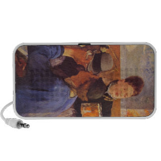 Beer Waitress by Edouard Manet Portable Speakers