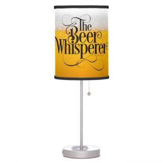 Beer Whisperer Desk Lamp