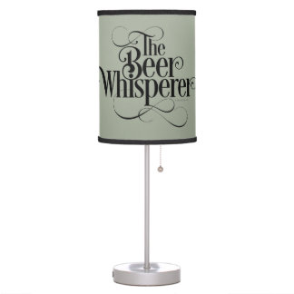 Beer Whisperer Table Lamp