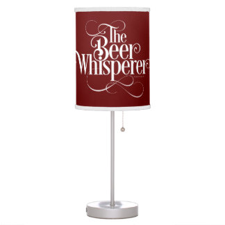 Beer Whisperer (white) Table Lamp
