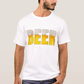 Beer White T-Shirts
