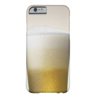 beer with foamy head barely there iPhone 6 case