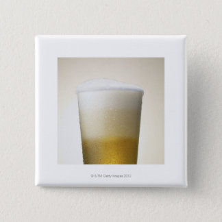 beer with foamy head button