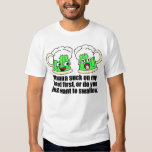 Beer with head t-shirt