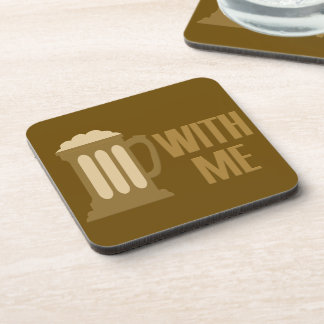 Beer With Me coasters