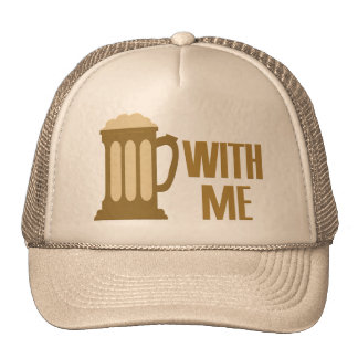 Beer With Me hat - choose color