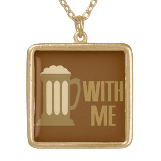 Beer With Me necklace