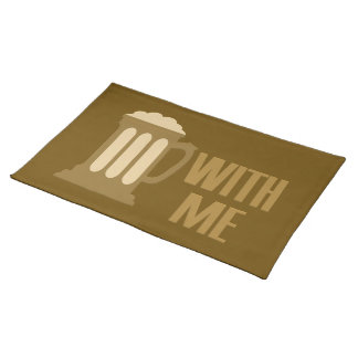 Beer With Me placemats