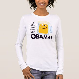 Beer With Obama Shirt