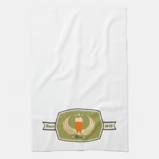 Beer with Wings Logo Bar Towels