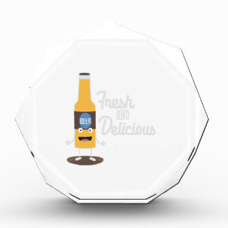 Beerbottle fresh and delicious Zdm8l Acrylic Award