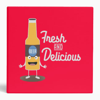 Beerbottle fresh and delicious Zdm8l Binder