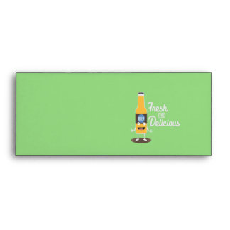 Beerbottle fresh and delicious Zdm8l Envelope