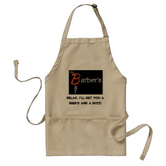 Beer'd and Buzz Adult Apron