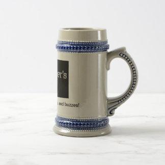 Beer'ds y zumbidos taza de café