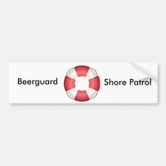 Beerguard Bumper sticker