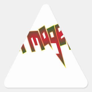 Beermageddon Triangle Sticker
