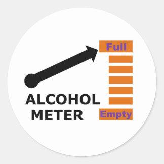beermeter full classic round sticker