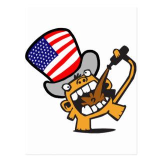 Beermonkey USA Postcard