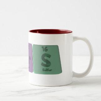 Beers-Be-Er-S-Beryllium-Erbium-Sulfur Two-Tone Coffee Mug