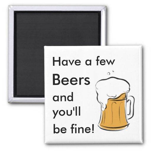 Beers Fridge Magnets