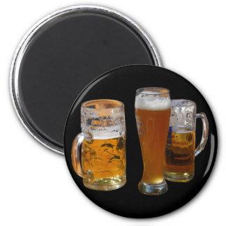 Beers mugs magnet