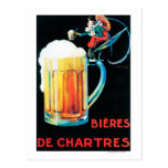 Beers of Chartres Promotional Poster Postcard