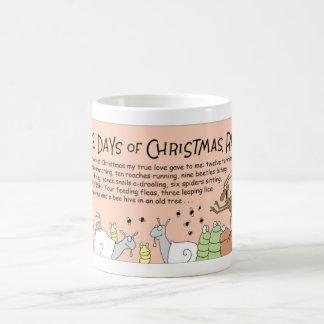 Bees 12 days of Christmas Coffee Mug