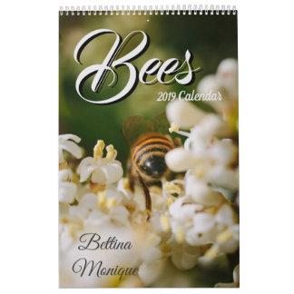 Bees 2019 Calendar