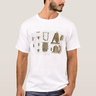 Bees and bee-keeping, from 'The Young Landsman', p T-Shirt