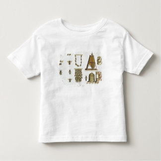 Bees and bee-keeping, from 'The Young Landsman', p Toddler T-shirt