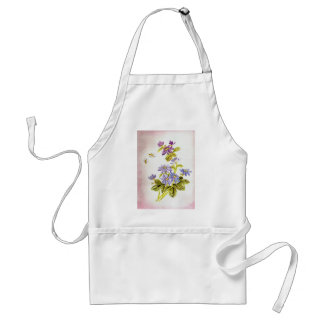 Bees and Flowers Adult Apron
