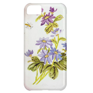 Bees and Flowers Case For iPhone 5C