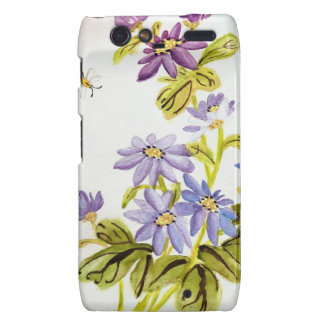 Bees and Flowers Droid RAZR Case