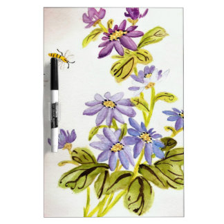 Bees and Flowers Dry Erase Boards