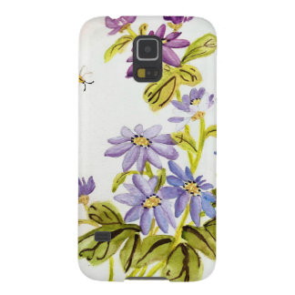 Bees and Flowers Galaxy S5 Covers