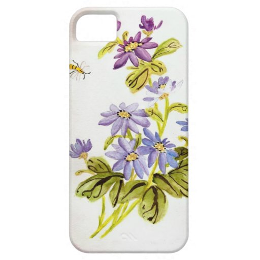 Bees and Flowers iPhone 5 Covers