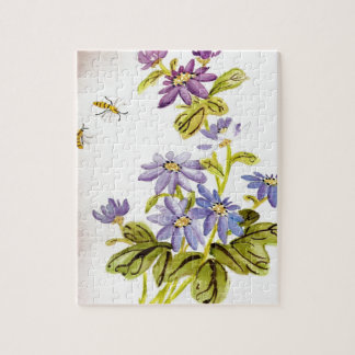 Bees and Flowers Jigsaw Puzzles
